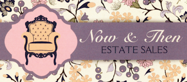 Now & Then Estate Sales Logo